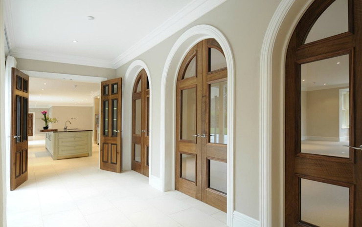 Beaconsfield Mansion Modern corridor, hallway & stairs by Perfect Integration Modern