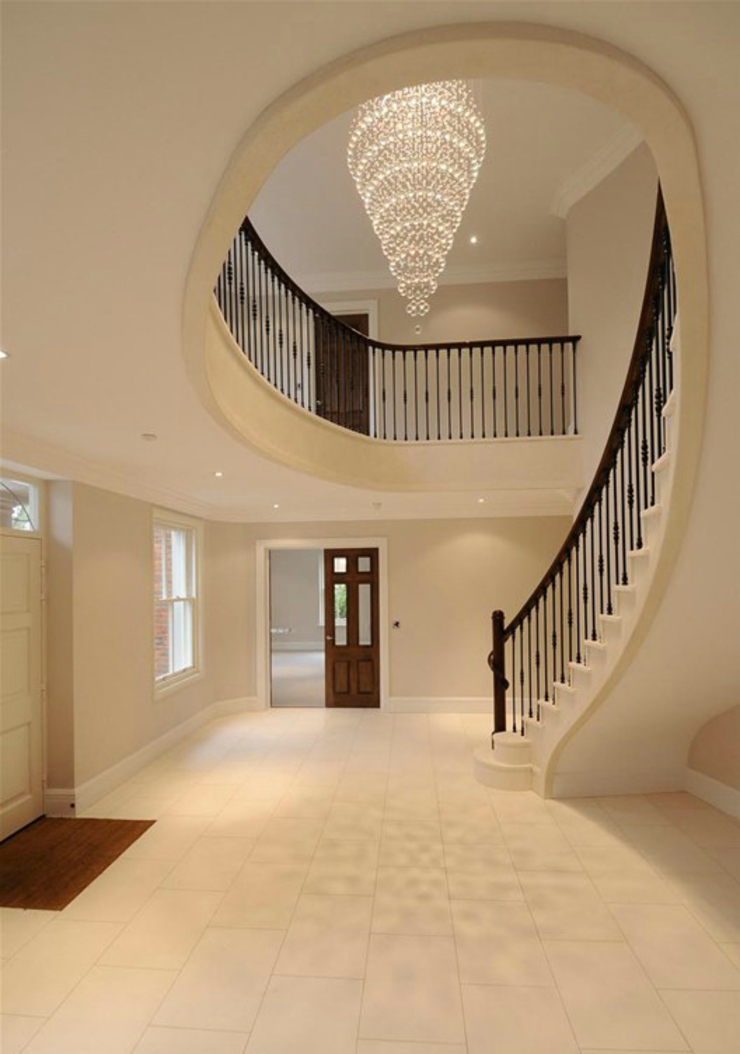 Beaconsfield Mansion Modern Corridor, Hallway and Staircase by Perfect Integration Modern