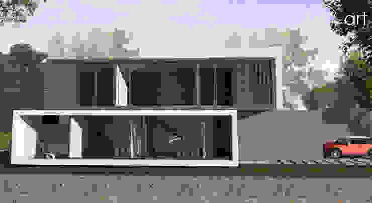 Casa com vista privilegiada - Casa LL Casas modernas por start.arch architettura Moderno