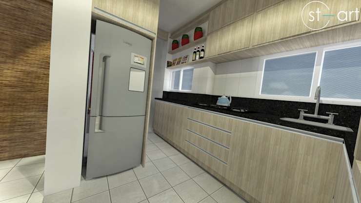 Modern Kitchen by start.arch architettura Modern