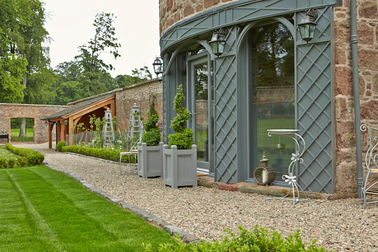 The Front Entrance by Architects Scotland Ltd