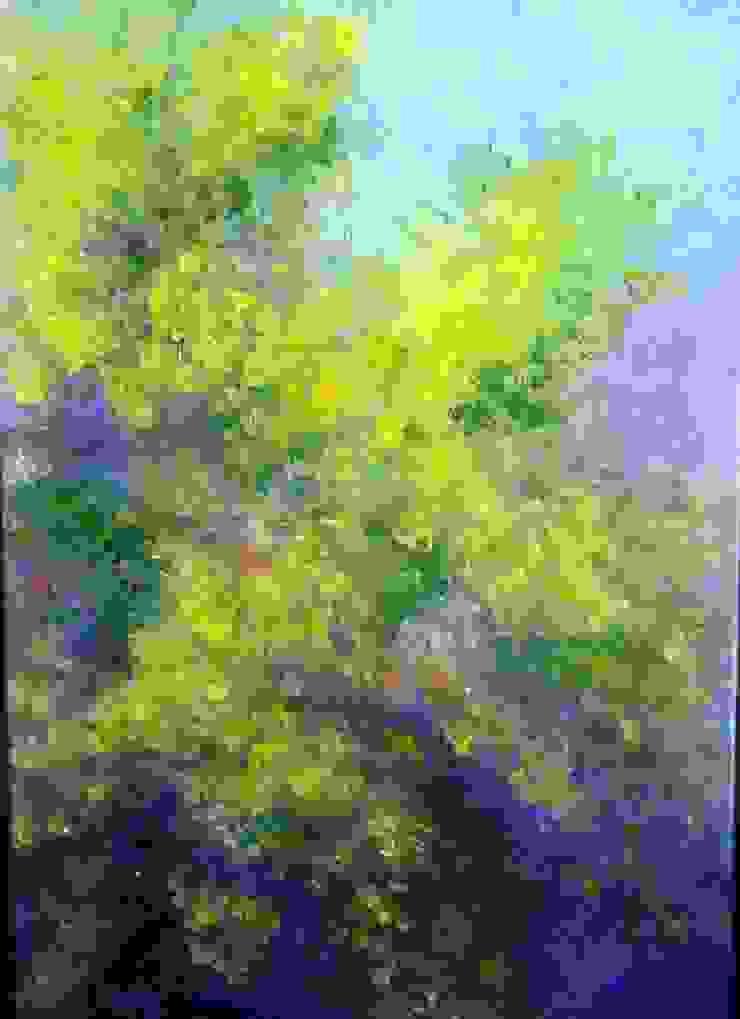 Mimosa en fleurs par magalinearts Éclectique