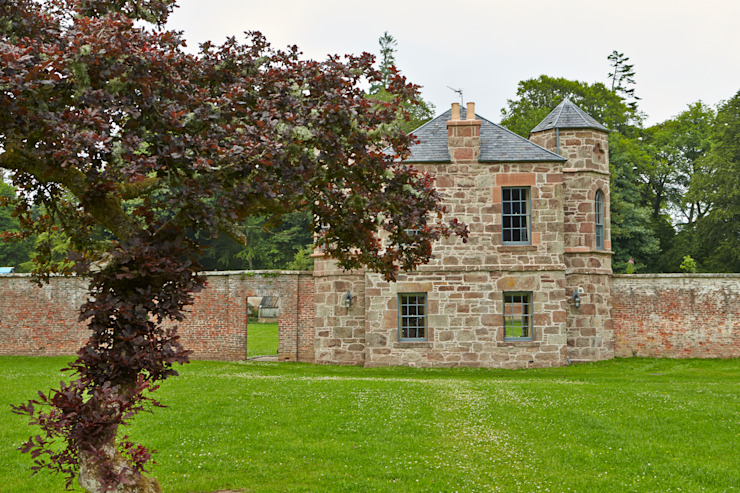 Rear Elevation Architects Scotland Ltd