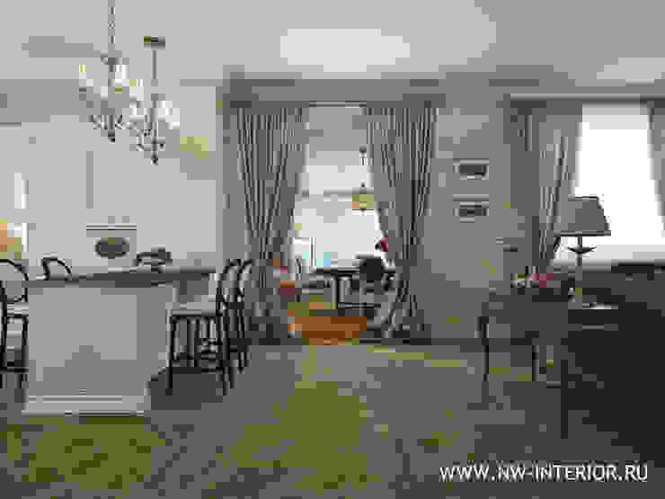 Дизайн коттеджа в Пестово. от дизайн-студия Nw-interior