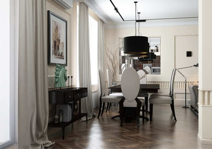 Classic style living room by Павел Белый и дизайнеры Classic