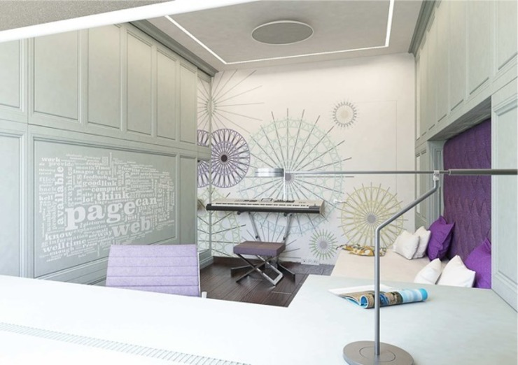 Classic style nursery/kids room by Павел Белый и дизайнеры Classic