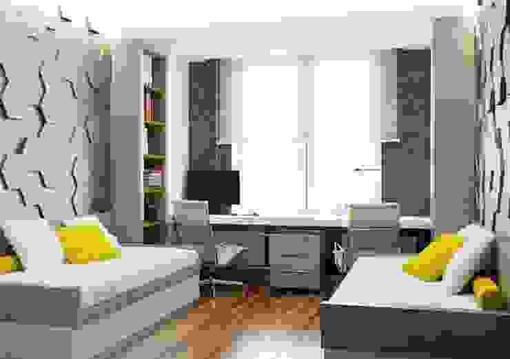 Dormitorios infantiles minimalistas de Павел Белый и дизайнеры Minimalista