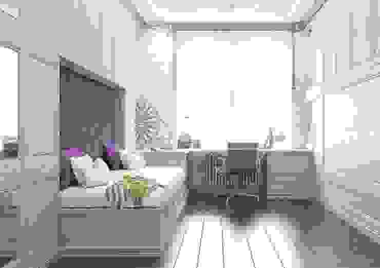 Dormitorios infantiles clásicos de Павел Белый и дизайнеры Clásico