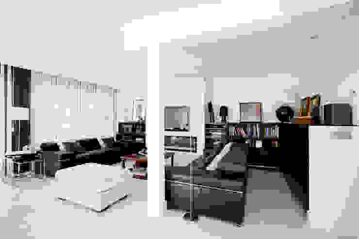 Salas de estilo  por IPUNTO INTERIORISMO, Moderno