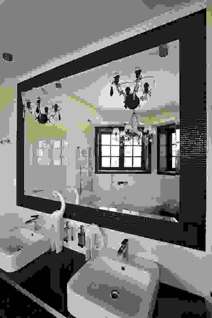 загородный дом 450 кв м Ванная комната в стиле модерн от point-design.ru Модерн