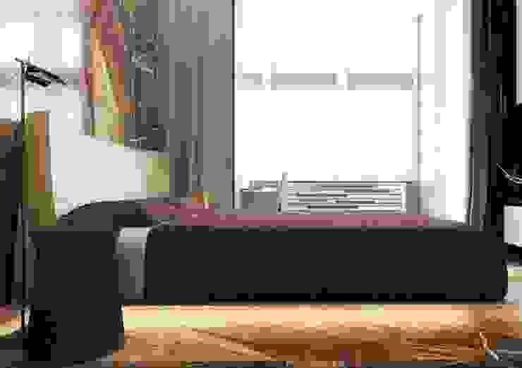 Спальня в стиле ар деко с использованием натурального камня Спальня в классическом стиле от Павел Белый и дизайнеры Классический
