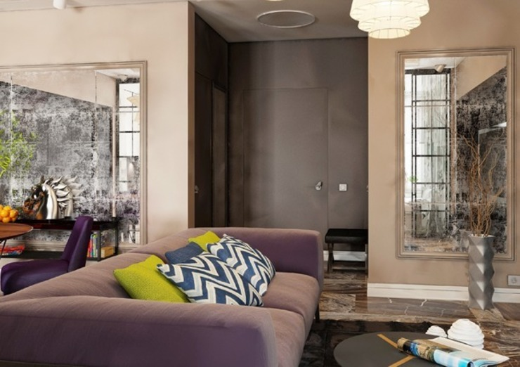Гостиная в стиле современного ар деко Гостиная в классическом стиле от Павел Белый и дизайнеры Классический