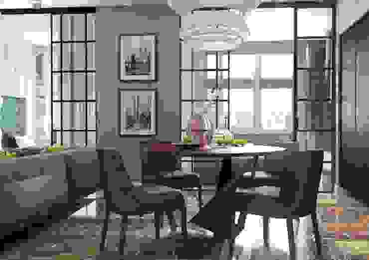 Современная гостиная в стиле ар деко Гостиная в классическом стиле от Павел Белый и дизайнеры Классический