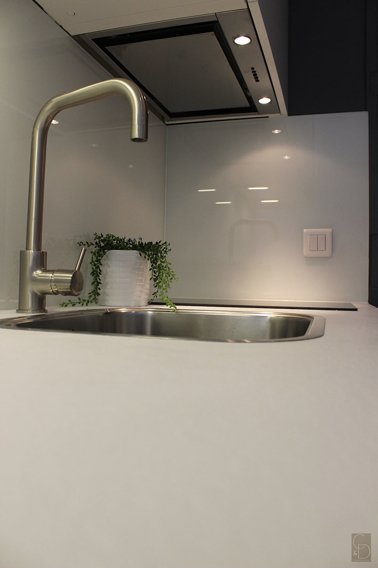 Détail cuisine après par CORTOT Architecture Interieure