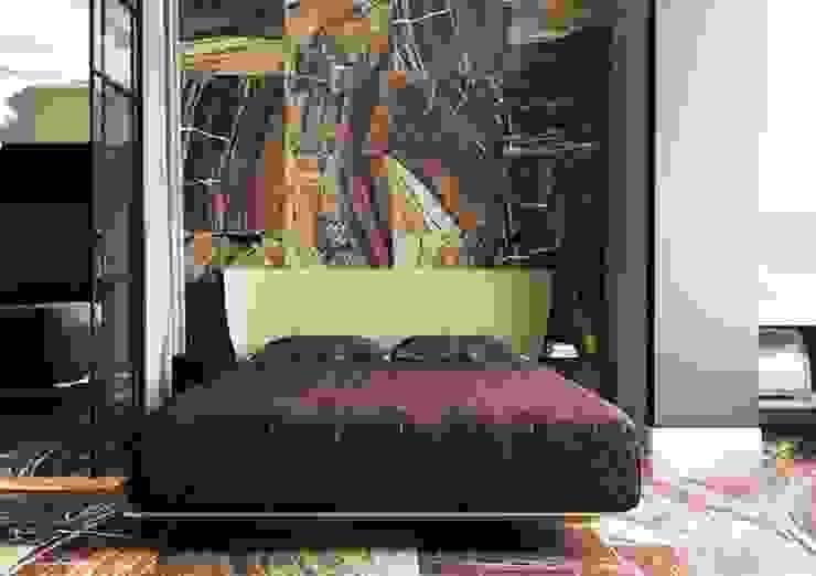 Спальня в стиле ар деко , натуральный камень Москва ЖК Шатер Спальня в классическом стиле от Павел Белый и дизайнеры Классический