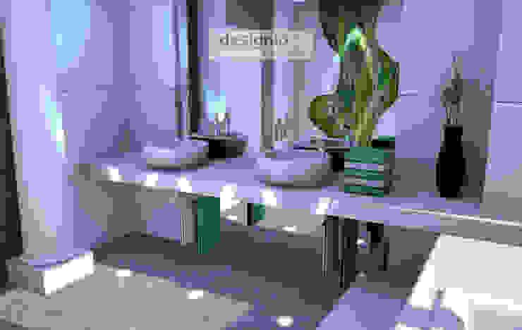 モダンスタイルの お風呂 の Art of Bath モダン