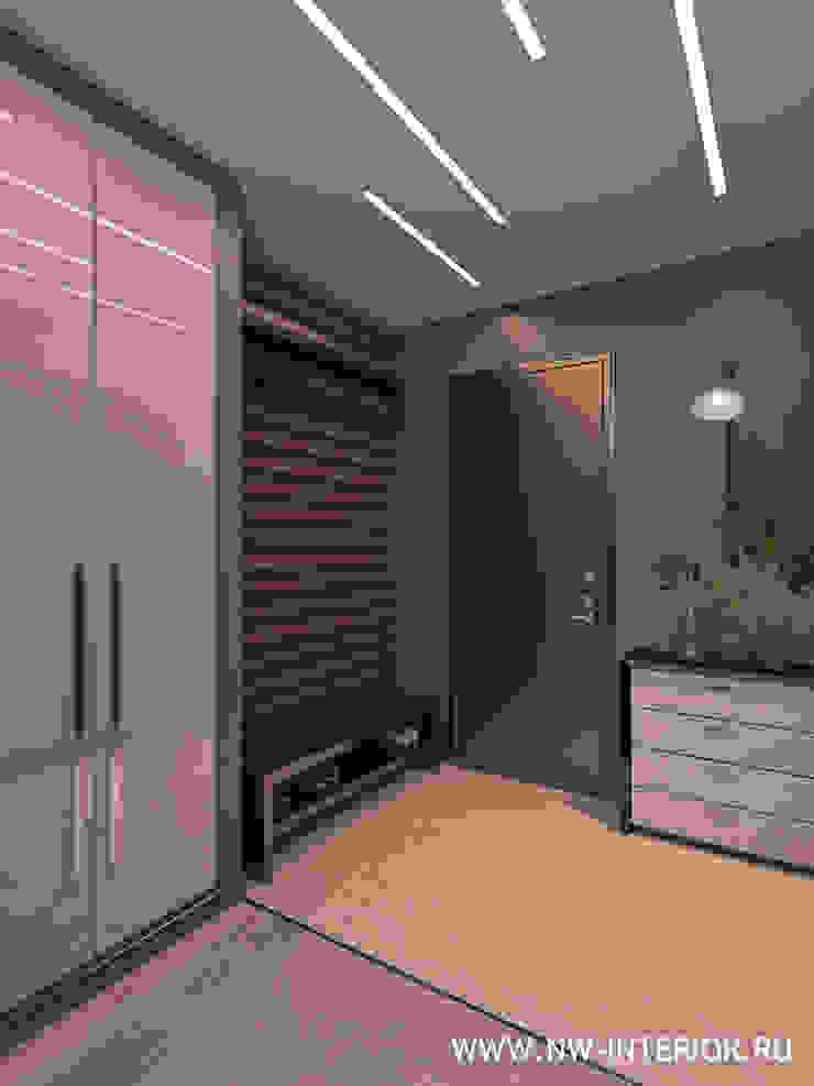 Дизайн квартиры в ЖК Доминион от дизайн-студия Nw-interior