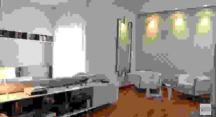 Interior Design Villa CDM a Bolognano (PE) Soggiorno moderno di Studio Sabatino Architetto Moderno