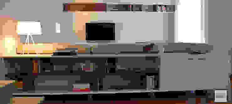 Studio Sabatino Architetto 现代客厅設計點子、靈感 & 圖片