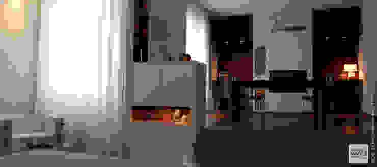 Interior Design Villa CDM a Bolognano (PE) Sala da pranzo moderna di Studio Sabatino Architetto Moderno