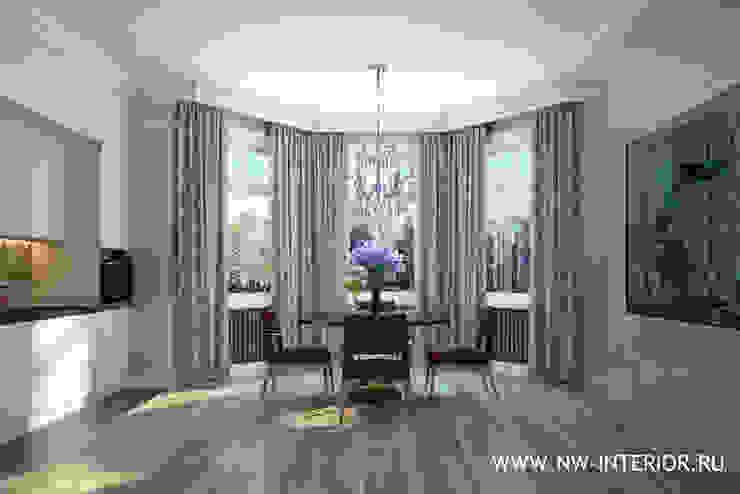 Квартира в стиле неоклассики. от дизайн-студия Nw-interior