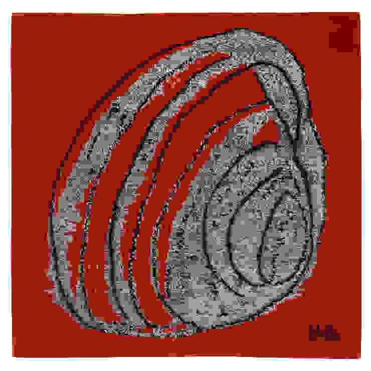 Moving Circle II, 2008 serie 1/3: modern  door Galerij Theaxus, Modern