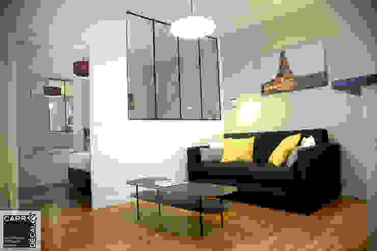 Appartement /Le petit atelier de l'île par Carré Décalé