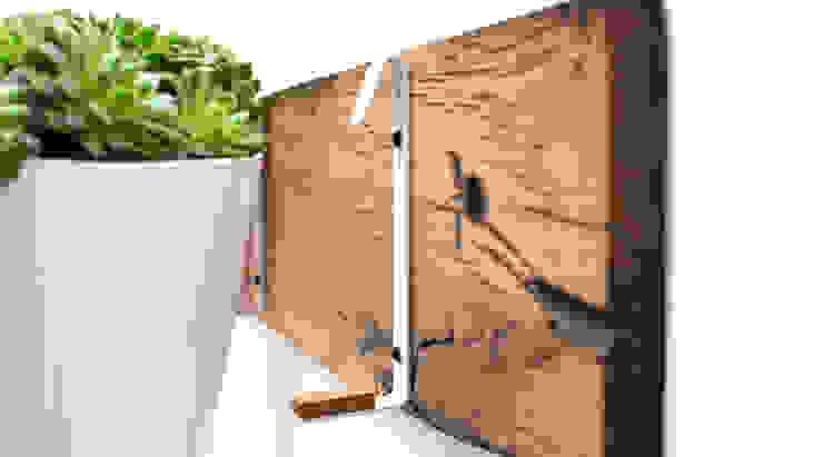 RECLAIMED FRENCH WAGON OAK HORIZONTAL PLANTER: minimalist  by Jam Furniture, Minimalist