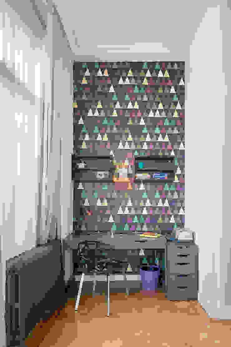 Stadsvilla Den Haag Eclectische studeerkamer van IJzersterk interieurontwerp Eclectisch