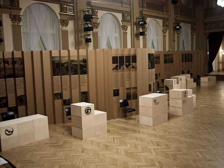 Czech nature exhibition Modern exhibition centres by studio deFORM Modern