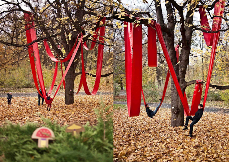 Relax Line Modern garden by studio deFORM Modern