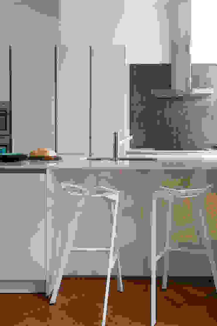 Stadsvilla Den Haag Moderne keukens van IJzersterk interieurontwerp Modern