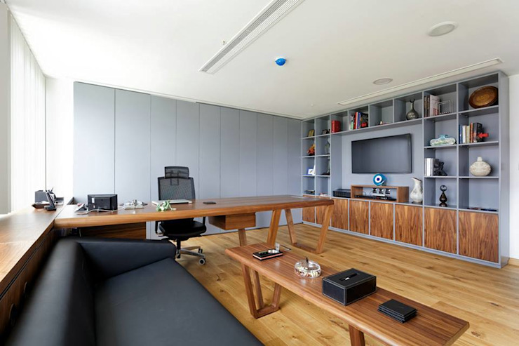 Modern offices & stores by DICLE HOKENEK ARCHITECTURE Modern