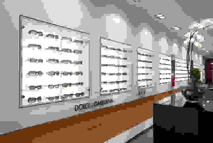 Optikladen in Giessen Moderne Ladenflächen von Anne.Mehring Innenarchitekturbüro Modern