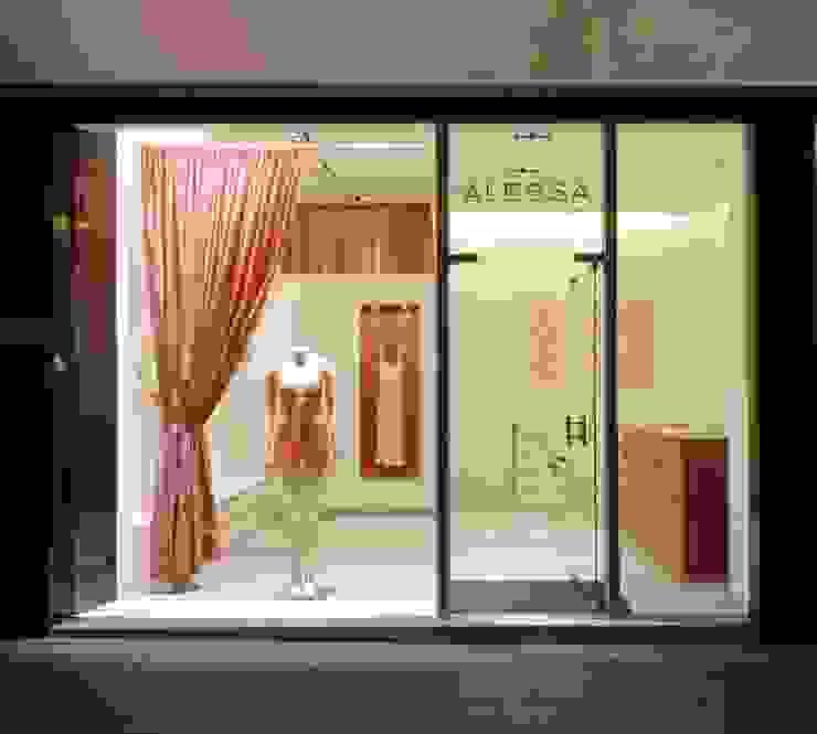 Dessousladen in Frankfurt Moderne Ladenflächen von Anne.Mehring Innenarchitekturbüro Modern