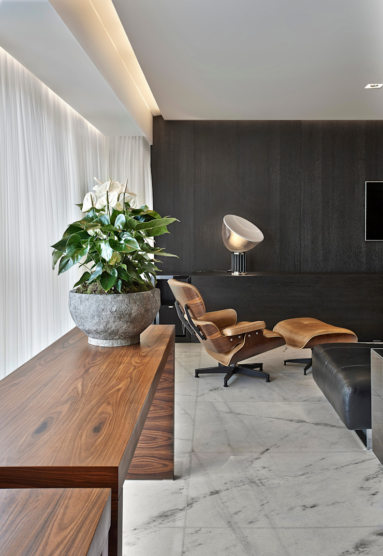 Apartamento jovem família Salas de estar modernas por Jaqueline Frauches Arquitetura e Interiores Moderno