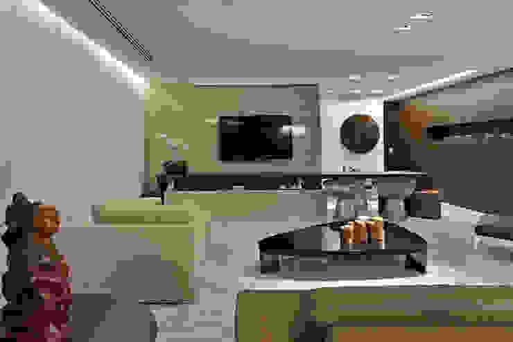 Para ver e viver! Salas de estar modernas por Jaqueline Frauches Arquitetura e Interiores Moderno