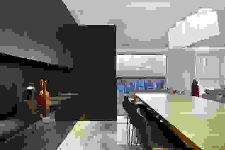Para ver e viver! Salas de jantar modernas por Jaqueline Frauches Arquitetura e Interiores Moderno