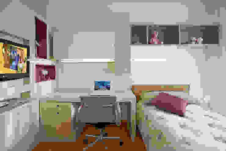 Para ver e viver! Quarto infantil moderno por Jaqueline Frauches Arquitetura e Interiores Moderno
