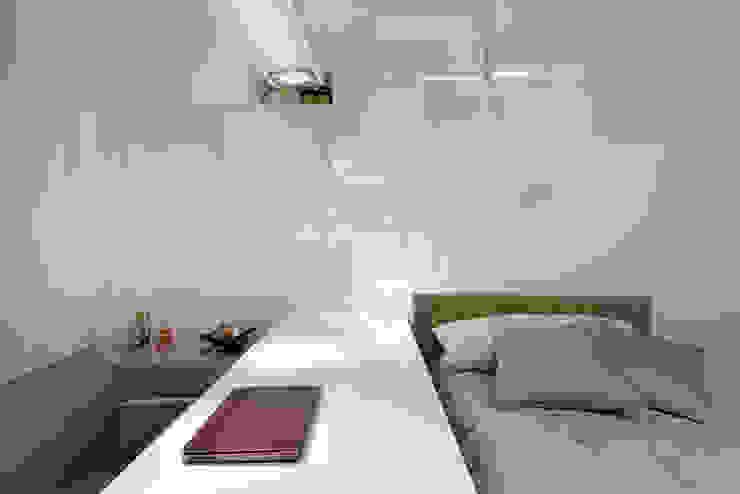 Para ver e viver! Quartos modernos por Jaqueline Frauches Arquitetura e Interiores Moderno