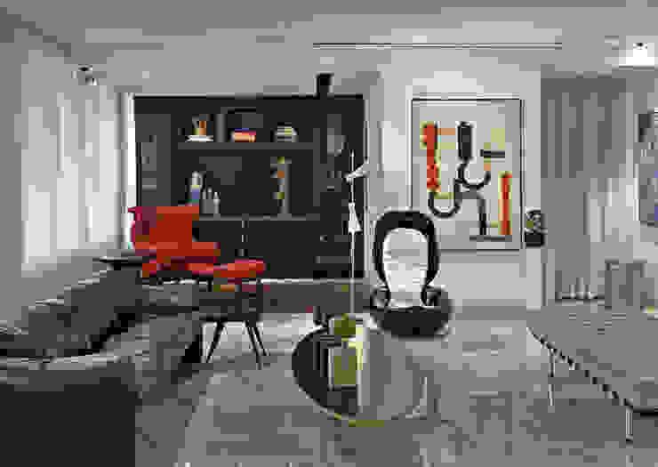 Soggiorno in stile  di Jaqueline Frauches Arquitetura e Interiores
