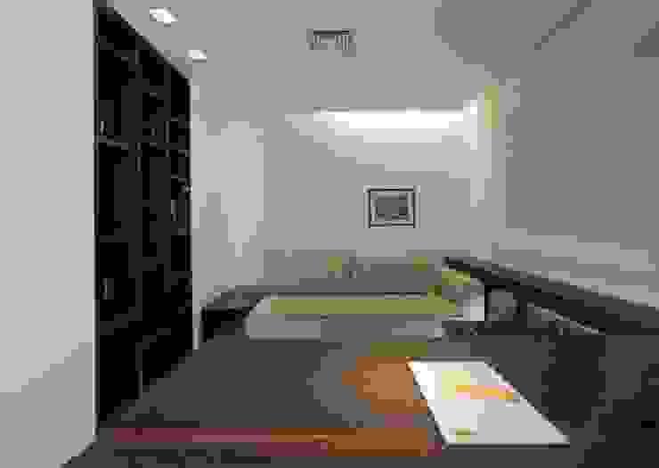 Decorado Escritórios modernos por Jaqueline Frauches Arquitetura e Interiores Moderno