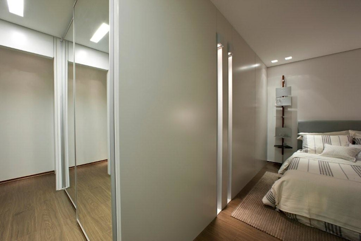 Decorado Quartos modernos por Jaqueline Frauches Arquitetura e Interiores Moderno