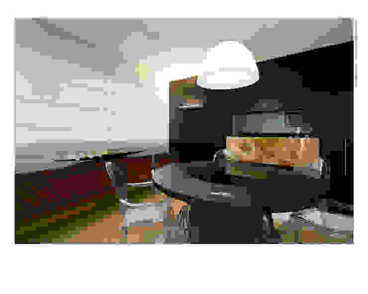 Pequeno notável Salas de jantar modernas por Jaqueline Frauches Arquitetura e Interiores Moderno
