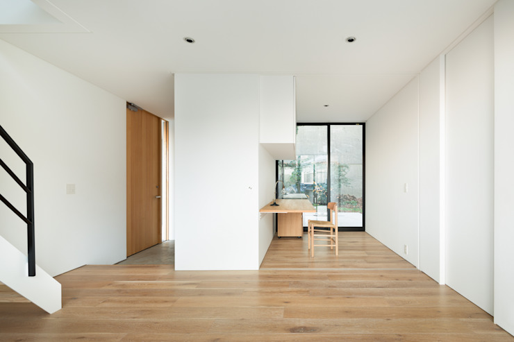 Ruang Studi/Kantor Modern Oleh 栗原隆建築設計事務所 Modern