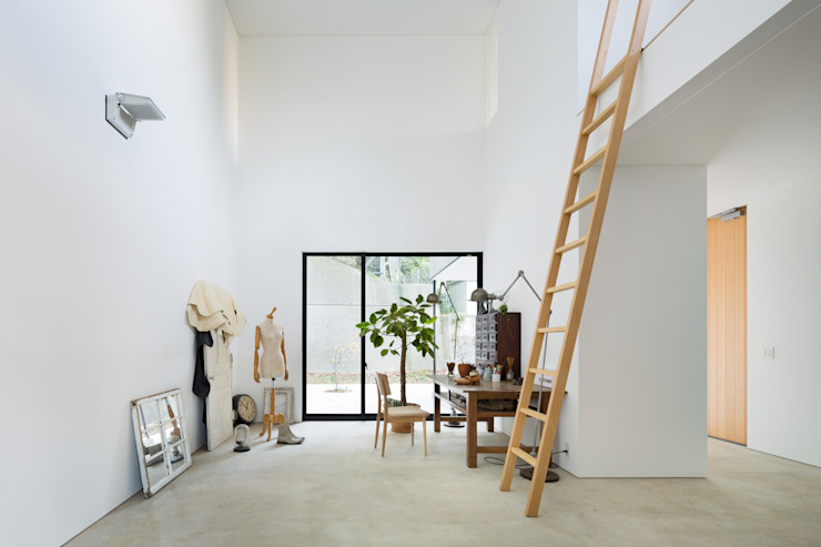 Ruang Media Modern Oleh 栗原隆建築設計事務所 Modern