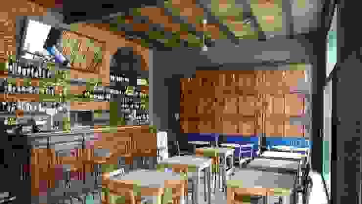Ristorante Rebelot Milano Negozi & Locali commerciali in stile industrial di SBG architetti Industrial