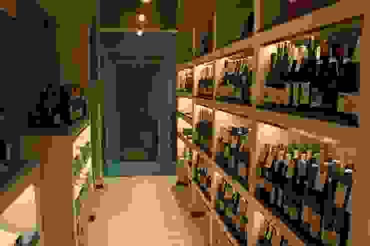 Wine cellar-2 Shigeo Nakamura Design Office オフィススペース&店