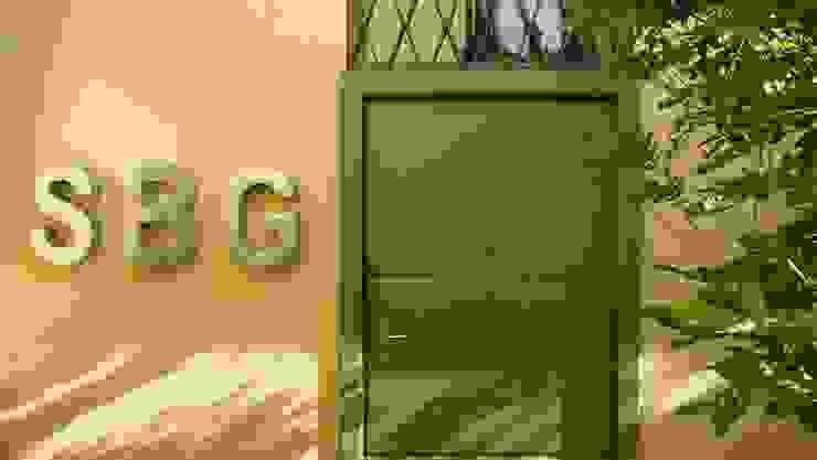 Studio SBG architetti - Milano Ingresso, Corridoio & Scale in stile industriale di SBG architetti Industrial