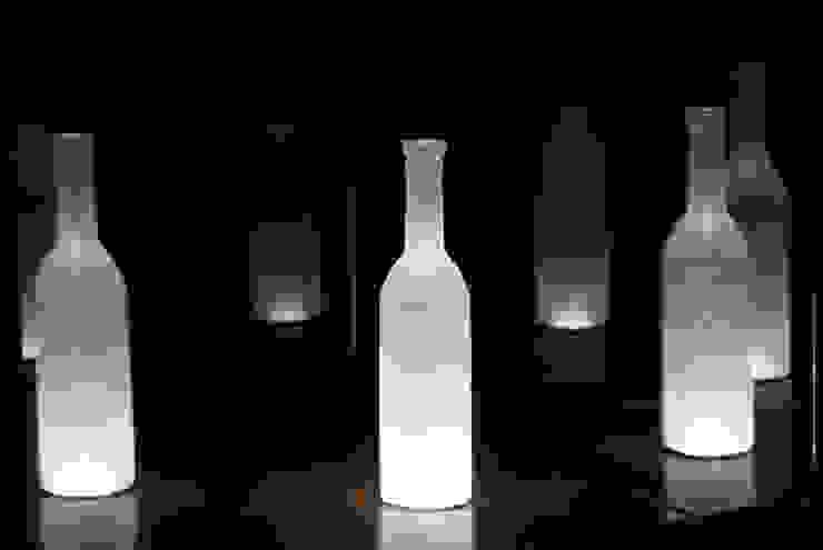 オリジナルワインボトル照明 の Shigeo Nakamura Design Office クラシック
